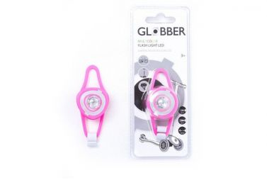 Купить Фонарь Globber Flash Light Led Pink