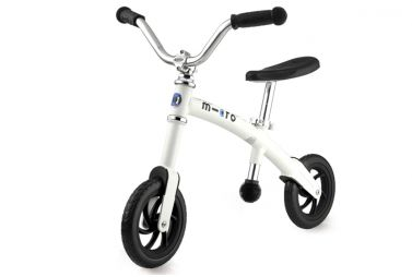 Купить Беговел Micro G-bike Chopper White Matt